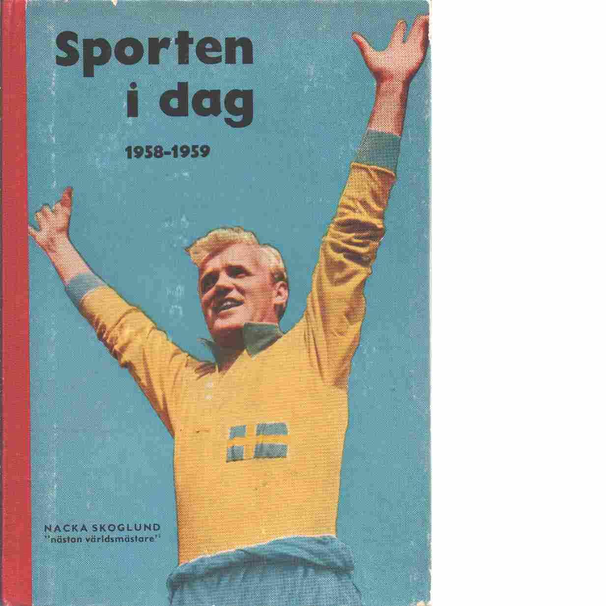 Sporten idag  1958 - 59 - Red,