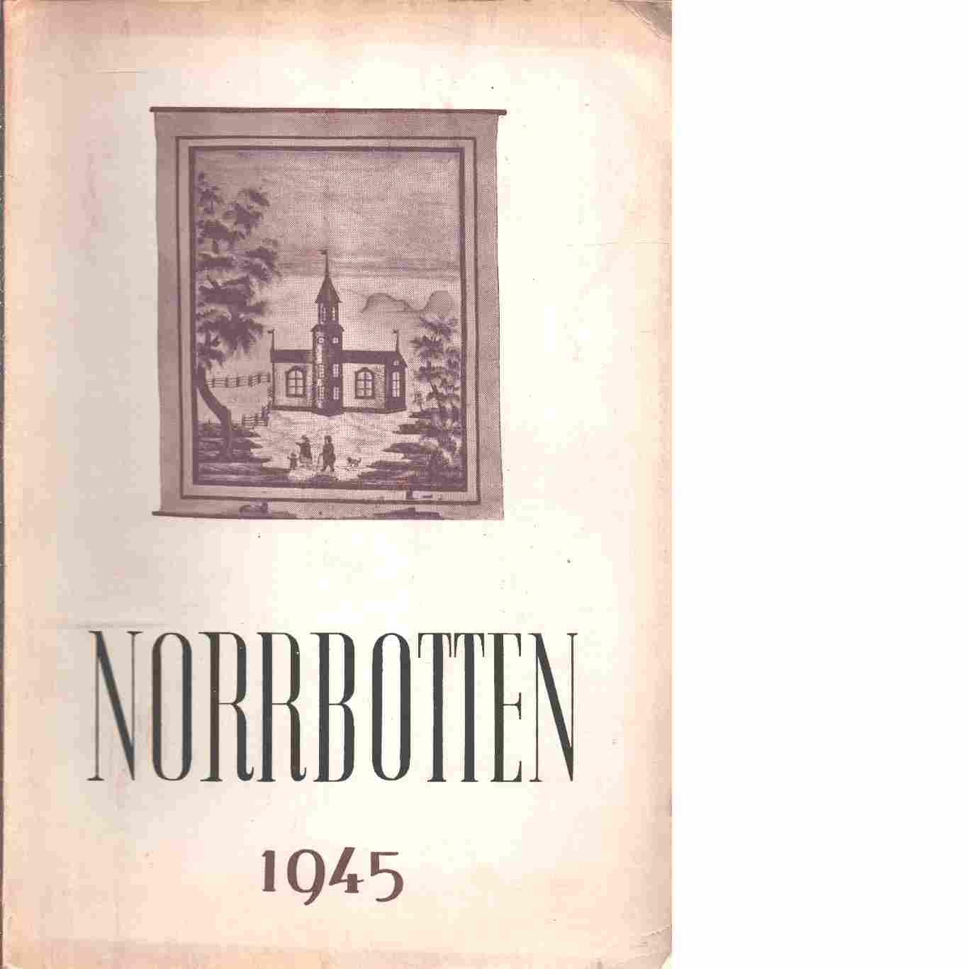 Norrbotten : Årsbok 1945 - Laquist, Birgit