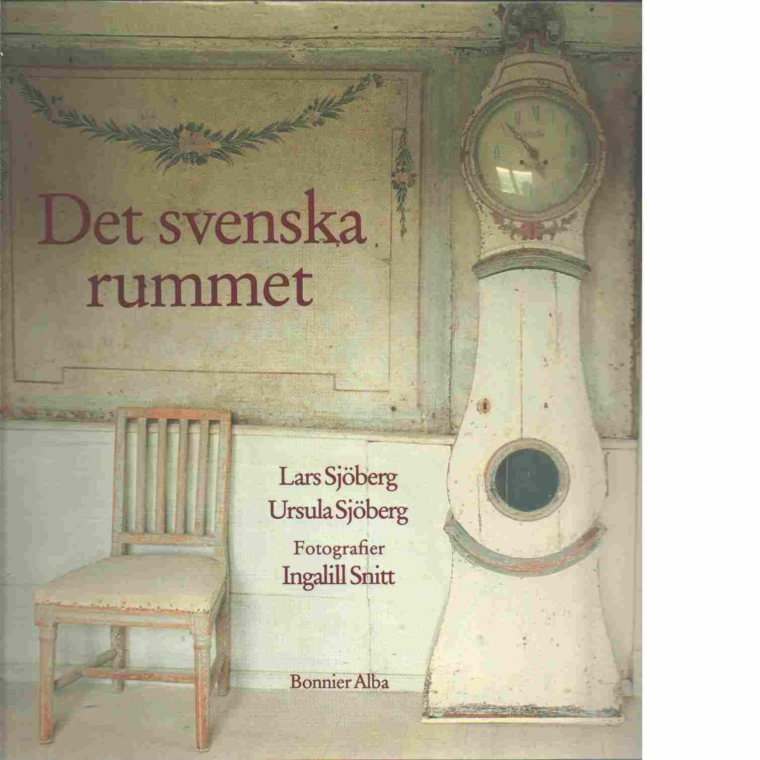 Det svenska rummet - Sjöberg, Lars och Ursula samt Snitt, Ingalill