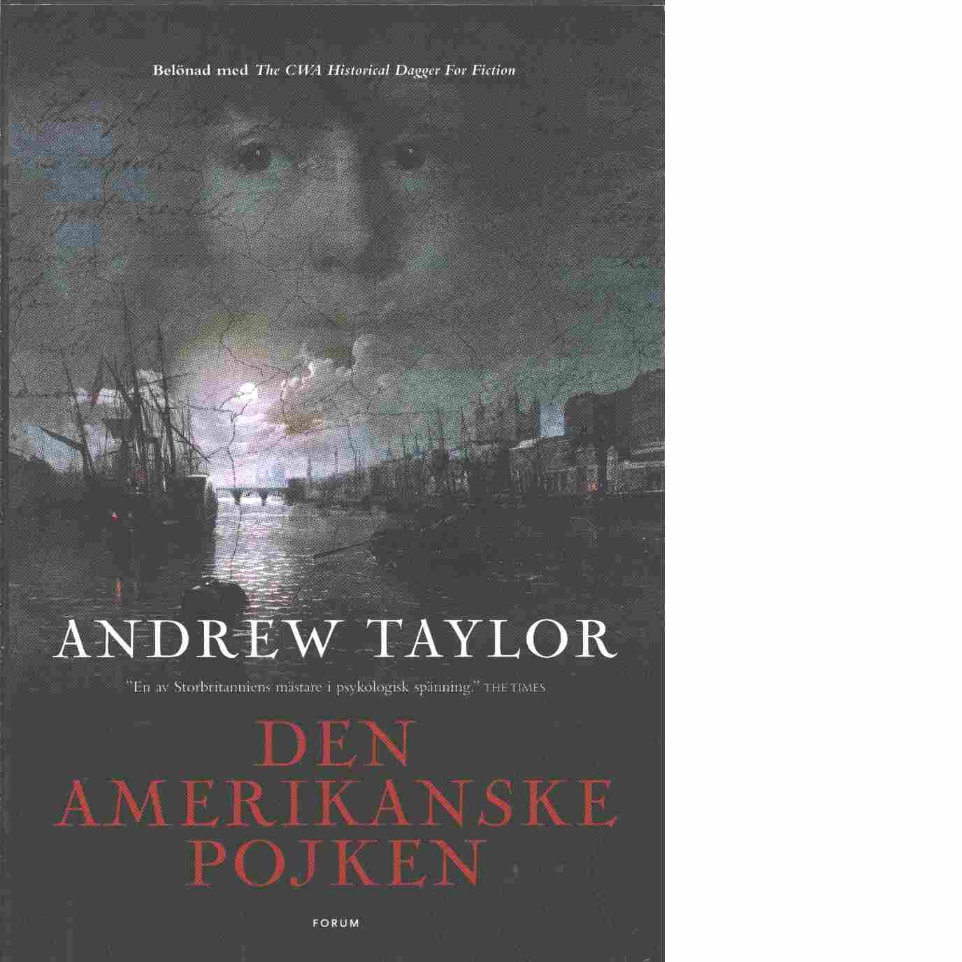 Den amerikanske pojken - Taylor, Andrew