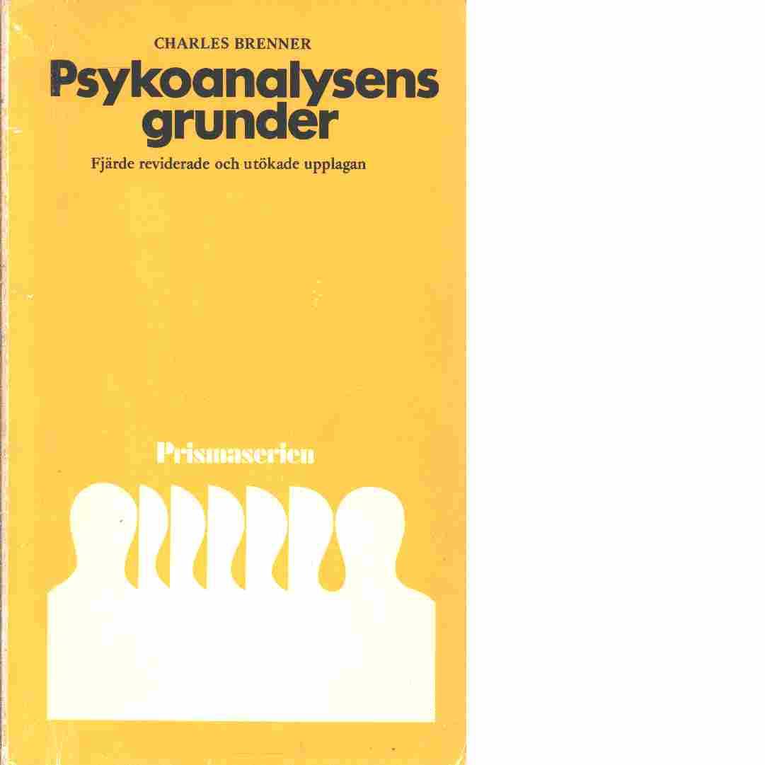 Psykoanalysens grunder - Brenner, Charles