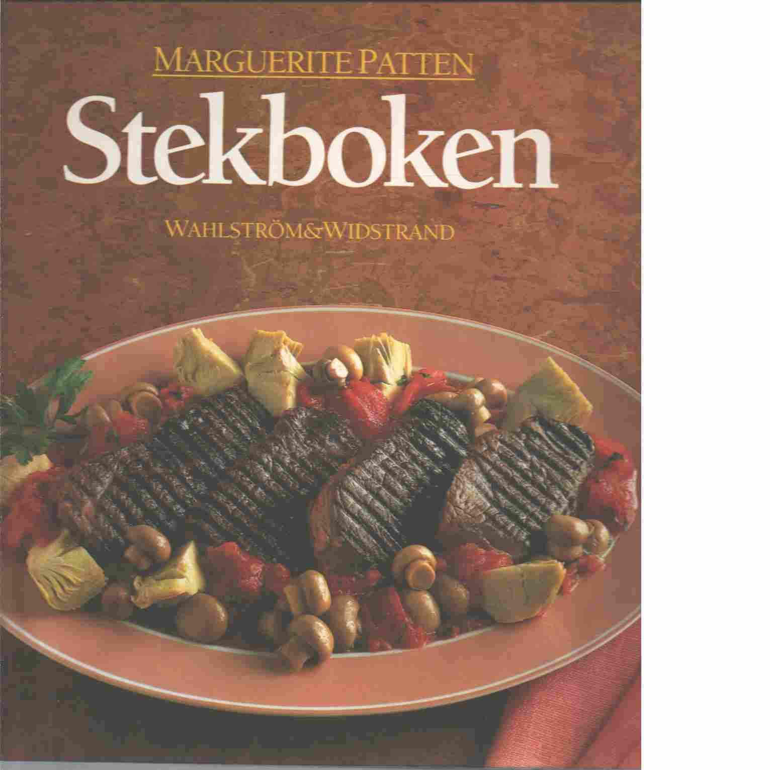 Stekboken - Patten, Marguerite